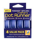 Adhesive Technologies 4 pk Permanent Crafter\u0027s Dot Runners