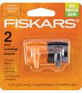 Fiskars Reinforced Trimmer Cut Score Blades 2pk