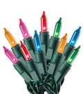 Maker\u0027s Holiday 100Ct String Lights-Multi Color