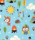 Novelty Cotton Fabric- Animals