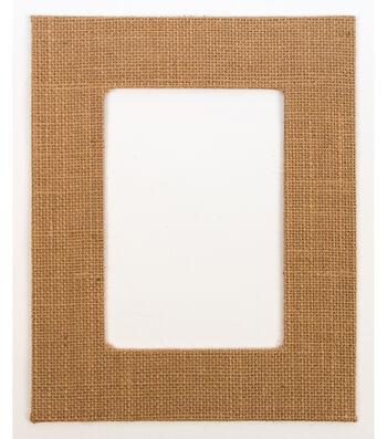 Framing Mat 8X10-Burlap
