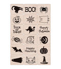 Hero Arts 18 Pack Ink \u0027n Stamps-Halloween