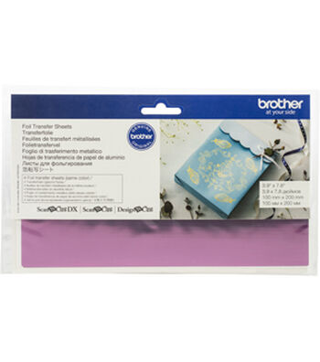 Brother ScanNCut SDX125 Foil Transfer Sheets-Pink