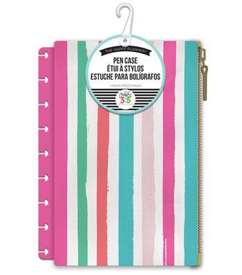 The Happy Planner Pen Case-Painted Stripe