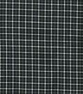 Quilter\u0027s Flannel Fabric-Black Box Plaid