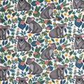 Anti-Pill Plush Fleece Fabric-Koalas And Flowers