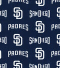 San Diego Padres Cotton Fabric -Logo