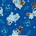 Disney Junior Puppy Dog Pals Fleece Fabric 59\u0027\u0027-Adventure