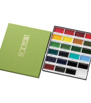 Kuretake Gansai Tambi 24-colors Water Color Set