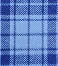 Cotton Shirting Fabric 42\u0027\u0027-Light Blue & Navy Plaid