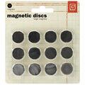 Magnetic Discs .625\u0022 12/Pkg-1/32\u0022 Thick