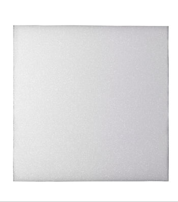 12X12X1/2In Foam Block White 3Pk