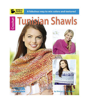 Tunisian Shawls Crochet Book
