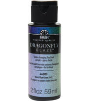 Folk Art Dragon Fly Glaze-2 oz., , hi-res