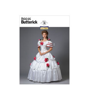 Butterick Pattern B6646 Misses' Costume-Size 14-16-18-20-22