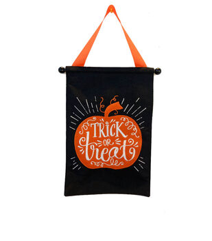 Maker's Halloween Wall Banner-Trick or Treat