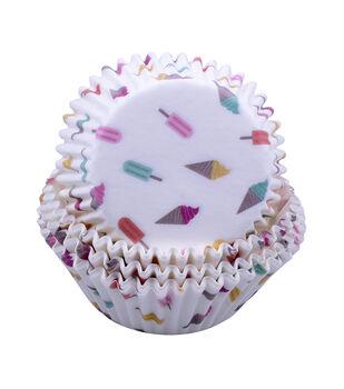 Hello Summer Baking 75 pk Cupcake Liners-Ice Cream