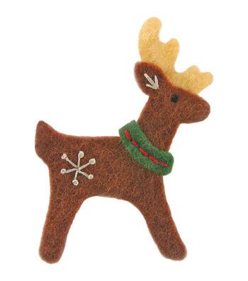 Dimensions Feltworks Reindeer Embellishments