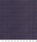 Quilter\u0027s Showcase Fabric 44\u0027\u0027-Mauve Ditsy Floral on Navy