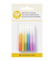 Wilton Birthday Candles-Ombre, , hi-res