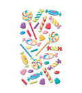 EK Success Puffy Dimensional Stickers-Sweet Tooth