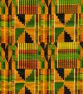 Ethnic Cloth Fabric 43\u0027\u0027-African Kente