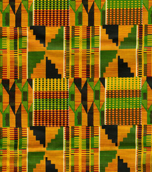 Ethnic Cloth Fabric -African Kente