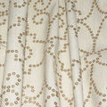 Dena Designs Upholstery Fabric 13x13\u0022 Swatch-Wow Factor Emb Gilded