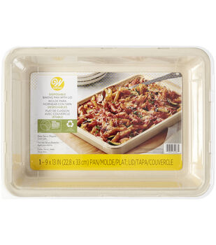 Wilton 9''x13'' Disposable Baking Pan with Lid