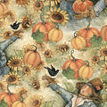 Harvest Cotton Fabric -Sunflower Fields