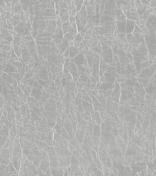 """Signature Series Sheer Crushed Voile Fabric 106""""-White"""