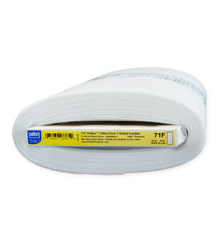 """Pellon 71F Peltex I One-Sided Fusible, White 20"""" x 10yds bolt"""