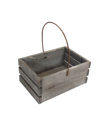 Bloom Room Wooden Basket