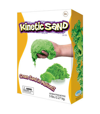 Relevant Play Kinetic Sand, 5 lbs., Green