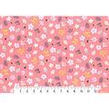 Premium Cotton Fabric 43\u0027\u0027-Astrid Garden Tossed on Pink
