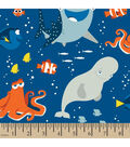 Disney Finding Dory Cotton Fabric -Friends