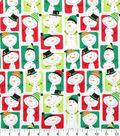 Holiday Cotton Fabric -Snowmen