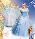 Simplicity Patterns 1026-Disney Cinderella and Fairy Godmother Misses Costumes