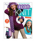 I Can Knit Book with 10 Fun Projects