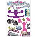 Paper House 3D Sticker Cheerleader