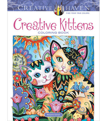 Dover Publications-Creative Kittens Coloring Book
