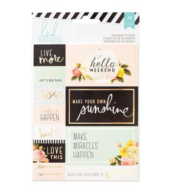 Heidi Swapp Memory Planner Calendar Stickers 2/Sheets