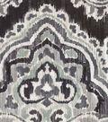 Waverly Upholstery Décor Fabric-Artesanias Ikat Graphite