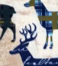 Anti-Pill Fleece Fabric 59\u0027\u0027-Pattern Trap Deer