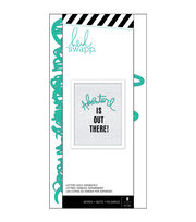 Heidi Swapp 8 pk Letterboard Words-Teal Adventure, , hi-res