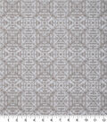 Keepsake Calico Cotton Fabric 43\u0027\u0027-Cream Tonal Geometric Diamond