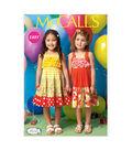 McCall\u0027s Pattern- M7144-CF0 Toddlers\u0027 & Children\u0027s Dresses-4-5-6
