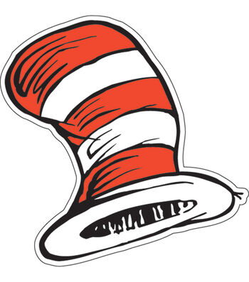 Dr. Seuss Cat in the Hat Paper Cut Outs