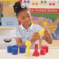 Learning Resources 12 pk Soft Foam Geometric Shapes