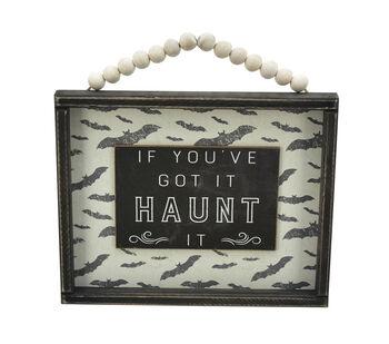 Maker's Halloween Wall Decor with Bead String Hanger-Got It Haunt It